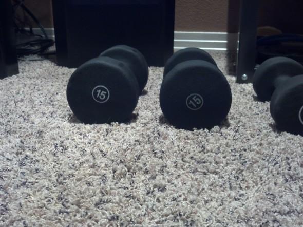 15 weights